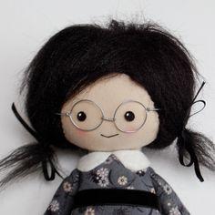 custom cloth doll design your own rag doll by Lybo on Etsy