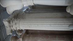 Säule aus Stein - http://www.achillegrassi.com/de/project/colonne-stile-corinzio-in-pietra-bianca-di-vicenza/ - Korinthische Säule aus weißem Stein von Vicenza Maße:  290cm x 50cm x 50cm