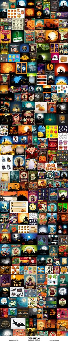 Desire FX 3d models | Halloween Mega Bundle – 230 EPS