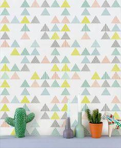 Me apaixonei e compartilho com vocês esses papéis de parede maravilhosos! Lá no Perfeita Ordem!
