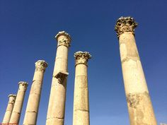 Gerasa, antigua Jerash, es una de las diez antiguas ciudades que formaban la Decápolis del Imperio Romano. Los monumentos más importantes d...