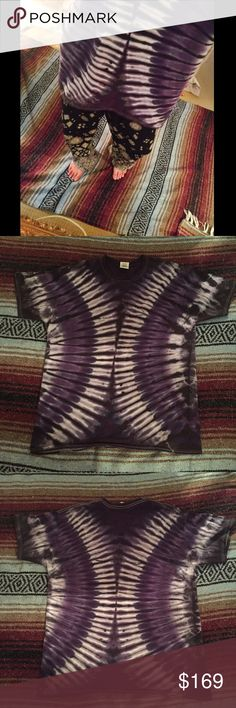"""""""Purple Haze"""" Tie Dye Tee BAD. ASS. TEE. Sad to see her go, but it's time for a new home :) Tops Tees - Short Sleeve"""