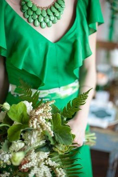 Pantone Color of the Year: Emerald-Inspired Wedding Decor | Minnesota Bride Magazine