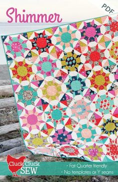 This is one of my all time favorite quilt blocks, and with no templates, Y seams, or tricky piecing, it's actually simple to make! This pattern is fat quarter f