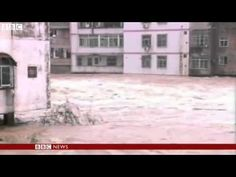 BBC News - China floods: Torrential rain kills dozens
