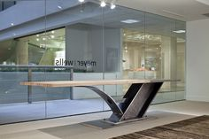 Reception Desk http://www.12thavenueiron.com/#