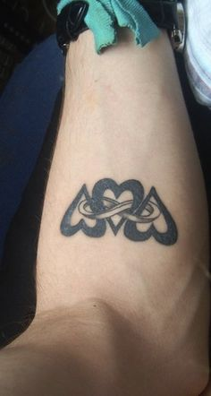 heart infinity tattoo | Hearts Infinity Tattoos Idea on Arm