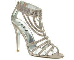 1000 Images About Diamante Sandals On Pinterest