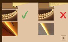 Led Light Design, Ceiling Light Design, Modern Lighting Design, Lighting Concepts, Interior Lighting, Ceiling Lights, Hidden Lighting, Cove Lighting, Indirect Lighting