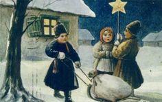 Рождество. Старинные открытки - Татьянин день