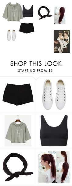 """Let's dance (Xuimin & luhan)"" by k-popz ❤ liked on Polyvore featuring L'Agence, Converse, MANGO, cute, kpop, EXO, luhan and xuimin"