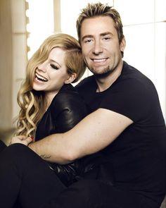 Avril Lavigne and her husband, Chad Kroeger.