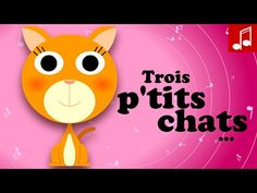 3 petits chats (chats, chats, chapeau de paille...) comptine maternelles - Philippe Jalbert - YouTube