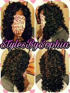 SHE USED 3 1/2 PACKS OF RIPPLE DEEP BY KIMA CUT N LAYERS FOR THIS CROCHET BRAIDS INSTALL. Crotchet Braids, Crochet Braids Hairstyles, Weave Hairstyles, Kima Crochet Hair, Curly Crochet Hair Styles, Crochet Braid Styles, Curly Hair Styles, Natural Hair Styles, Black Girls Hairstyles