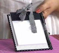 Blog Claudia Tenório: Veja como criar uma linda prancheta!