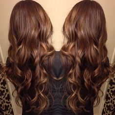dark brown balayage hair with light brown highlights 2015