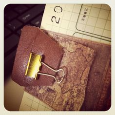 Chunky Traveler's Notebook by Moniquevmb, via Flickr