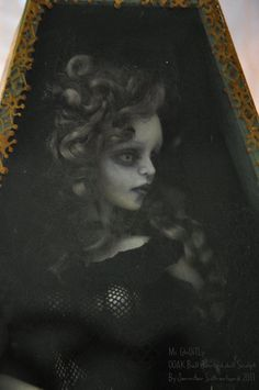Gothic Ghost Ball jointed doll by *SutherlandArt