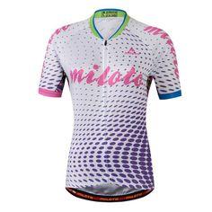 Maillot Cyclisme Maillot Vélo Usure Ropa Ciclismo Rock Vélo Uniforme VTT Vélo Vêtements Cyclisme Vê Team Cycling Jerseys, Women's Cycling Jersey, Road Cycling, Mountain Bike Accessories, Bicycle Clothing, Bike Wear, Bicycle Women, Jersey Shorts, Jersey Tops
