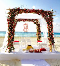 #flowermandap #indianweddingdecor #elegantmandap