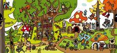 Actividades para trabajar la atención y la percepción visual el invierno en a4 y a3 el bosque Happy Easter Everyone, Forest Theme, Story Starters, Book Tattoo, Spanish Classroom, Speech And Language, Learning Spanish, Book Publishing, Art Museum