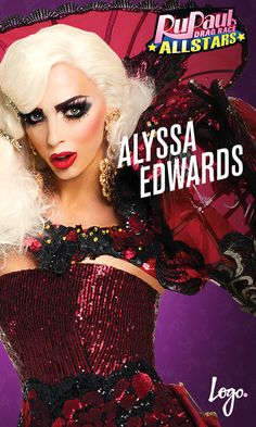 Cast of RuPaul's Drag Race All-Stars Season 2: Alyssa Edwards--- can't wait to watch this shit!!!!!!!!!!!!! Alyssa v. CoCo round 2 (back rolls?!?)