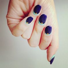 Image shared by Fashion Diva Design. Find images and videos about nails, nail art and nail designs on We Heart It - the app to get lost in what you love. Spring Nail Art, Spring Nails, Short Nail Designs, Nail Art Designs, Nails Design, Different Nail Shapes, Nagellack Trends, Trendy Nail Art, Blue Nails