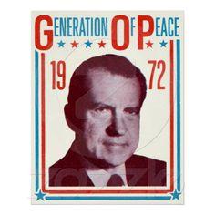 1972 Nixon Presidential Campaign Posters
