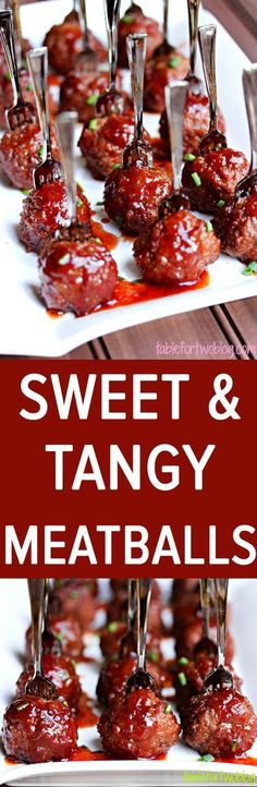 With only 3 ingredients these sweet & tangy balls make a quick and easy party appetizer.