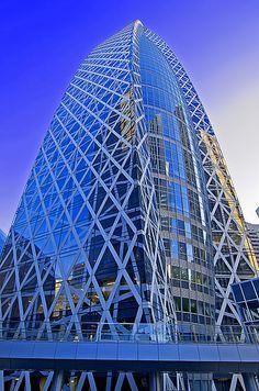 Mode Gakuen Cocoon Tower in Shinjuku, Tokyo