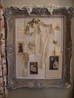 Nostalgia at the Stone House.  Would love to make one of my mom's personal little trinkets - great memory craft idea.