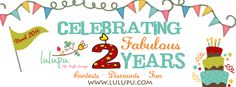 Lulupu turns 2 and we want to Celebrate it with you!