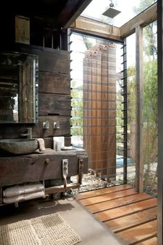natural modern interiors: Callignee II :: Recycled House From Grand Designs…