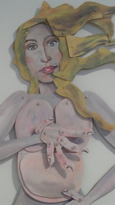 the Birth of Venus Large  movable wood art  by InandOutDesign, $900.00