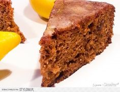 Dietetyczne ciasto marchewkowe:  Składniki: 3,5 szklank… Healthy Cake, Healthy Baking, Healthy Desserts, Healthy Food, Healthy Recipes, Bakery Recipes, Dessert Recipes, Good Food, Yummy Food