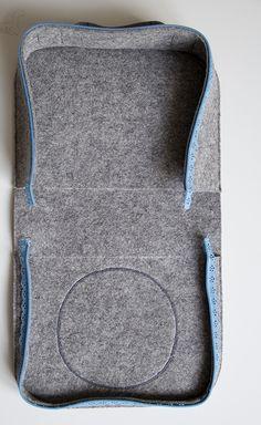 kolay keçe çanta yapımı