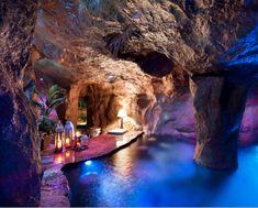 "Swim-up ""Grotto"" bar"