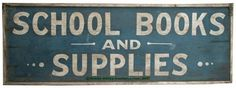 AMERICAN PAINTED WOOD ADVERTISING SIGN, double sided