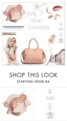 """""""Leather Handbag"""" by phiveriversuk ❤ liked on Polyvore featuring Marc Jacobs, Urban Decay, StyleNanda and Stila"""