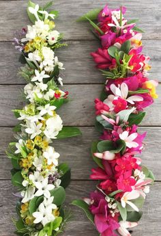 "Haku lei are also known as a ""Crown lei"" and worn on the head."