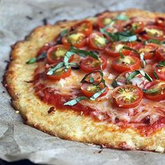 Go Grain-Free With a Low-Carb Cauliflower Pizza Crust .