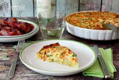 Sünis kanál: Zöldséges burgonya Quiche, Cauliflower, Mashed Potatoes, Macaroni And Cheese, Eggs, Vegetables, Breakfast, Ethnic Recipes, Food