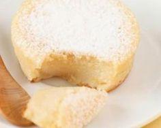 Petits gâteaux magiques à la noix de coco : http://www.fourchette-et-bikini.fr/recettes/recettes-minceur/petits-gateaux-magiques-la-noix-de-coco.html