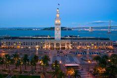 San Francisco's beautiful Ferry Building.    http://thepickwickhotel.wordpress.com/2012/07/31/around-town-visiting-san-franciscos-ferry-building/