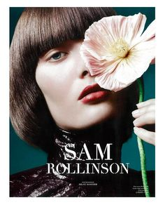Sam Rollinson by Solve Sundsbo for LOVE Magazine 10 Fall/Winter Fashion Photography Inspiration, Portrait Inspiration, Editorial Photography, Beauty Photography, Makeup Inspiration, Floral Fashion, Trendy Fashion, Fashion Beauty, Shooting Studio