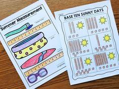 Kindergarten summer