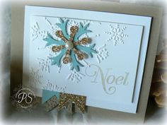 A Champagne Glitter Noel by pennysmiley - Cards and Paper Crafts at Splitcoaststampers