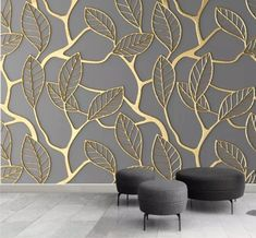 Custom Photo Wallpaper For Walls Stereoscopic Golden Tree Leaves Living Room TV Background Wall Mural Creative Wall Paper - AliExpress Custom Wallpaper, Photo Wallpaper, Wall Wallpaper, Wallpaper For Living Room, Wallpaper Designs For Walls, Luxury Wallpaper, 3d Wallpaper Home, Embossed Wallpaper, Computer Wallpaper