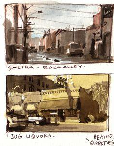 Gurney Journey: Snapshot Sketches