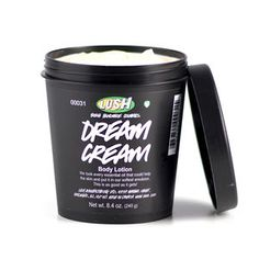 Dream Cream from Lush.  This really is dream cream.  I absolutely love this stuff!!!!!!!